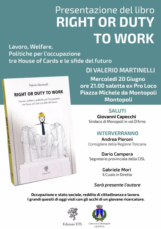 A Montopoli, il libro di Valerio Martinelli