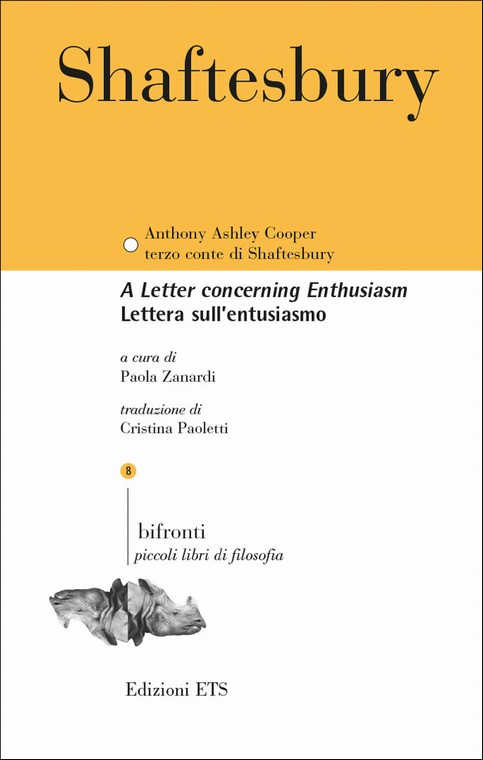 Lettera sull'entusiasmo.