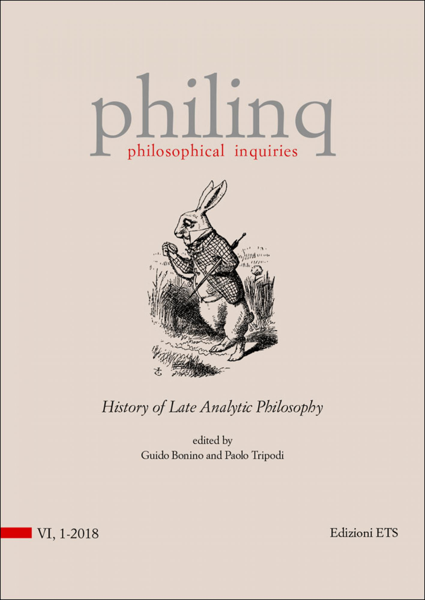 philosophical inquiries.