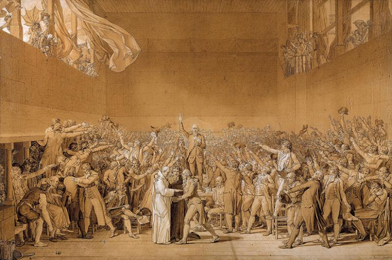 3/ - totale dell'opera di Jacques Louis David