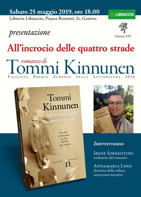 Il romanzo di Kinnunen approda a Genova