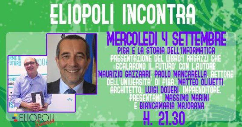 Eliopoli incontra Pisa e la storia dell'informatica