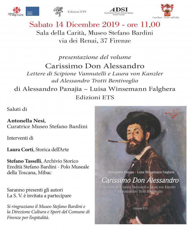 Carissimo Don Alessandro al Museo Stefano Bardini