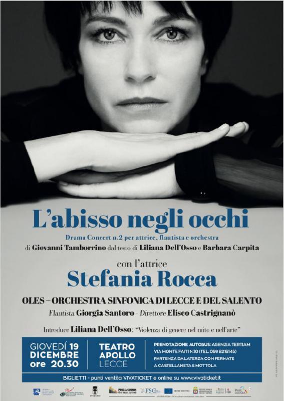 Stefania Rocca interpreta l'abisso negli occhi