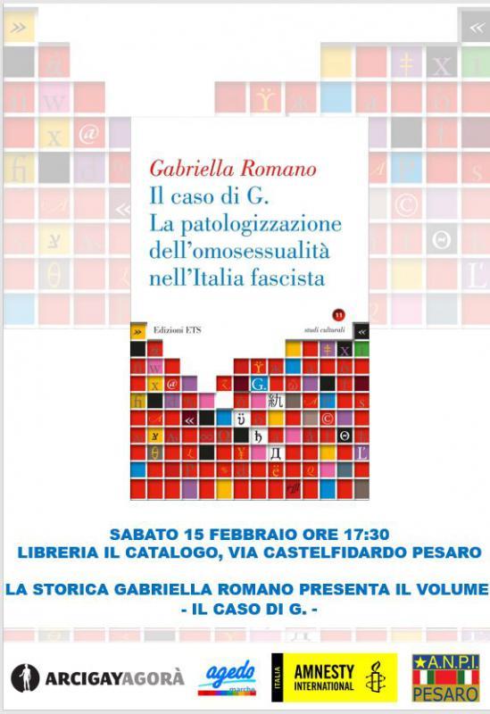 Gabriella Romano sarà a Pesaro