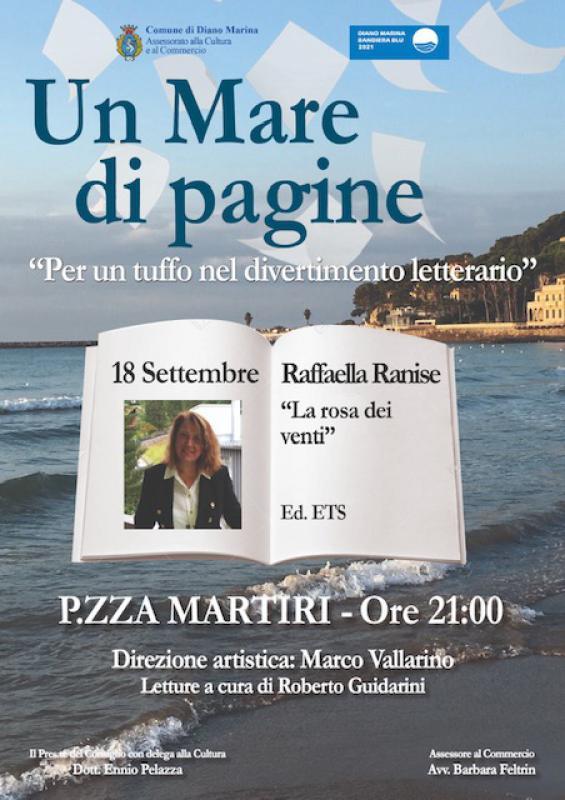 Raffaella Ranise a Un mare di pagine