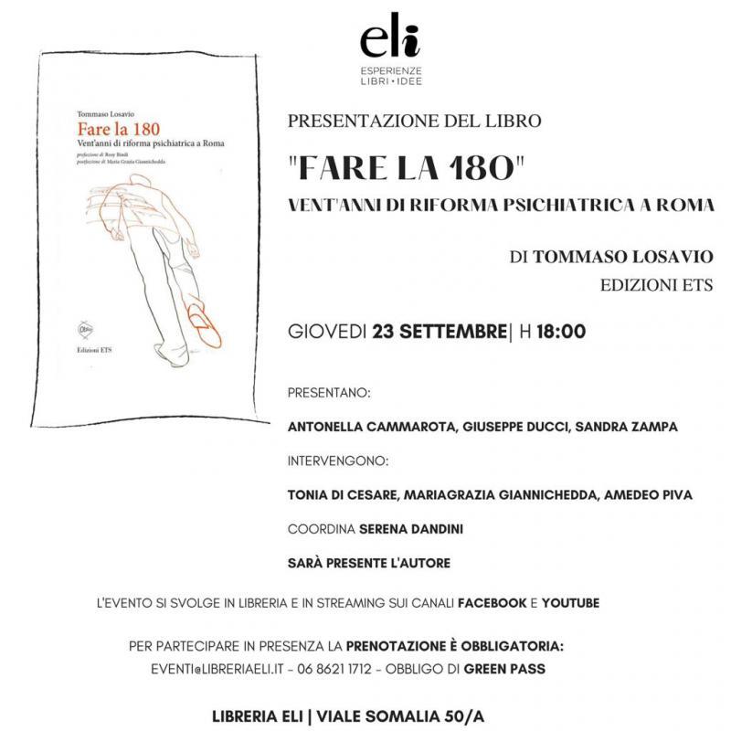 Serena Dandini presenta il libro Fare la 180
