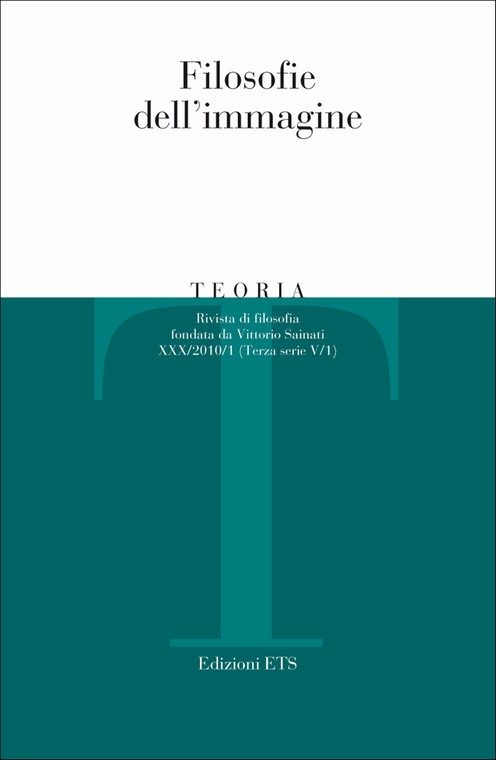 Teoria 2010-1.Filosofie dell'immagine