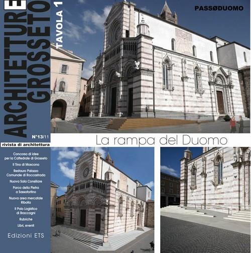 Architetture Grosseto 13/11.La rampa del Duomo