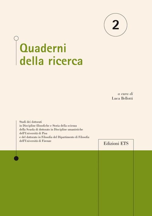 Quaderni della ricerca - 2