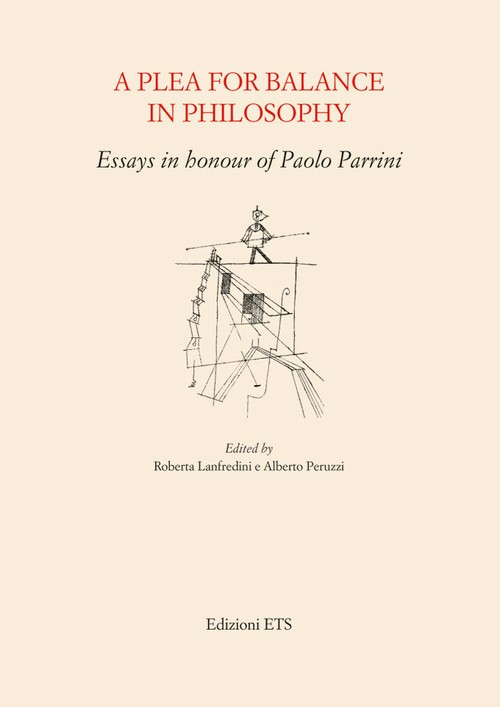A Plea for Balance in Philosophy.