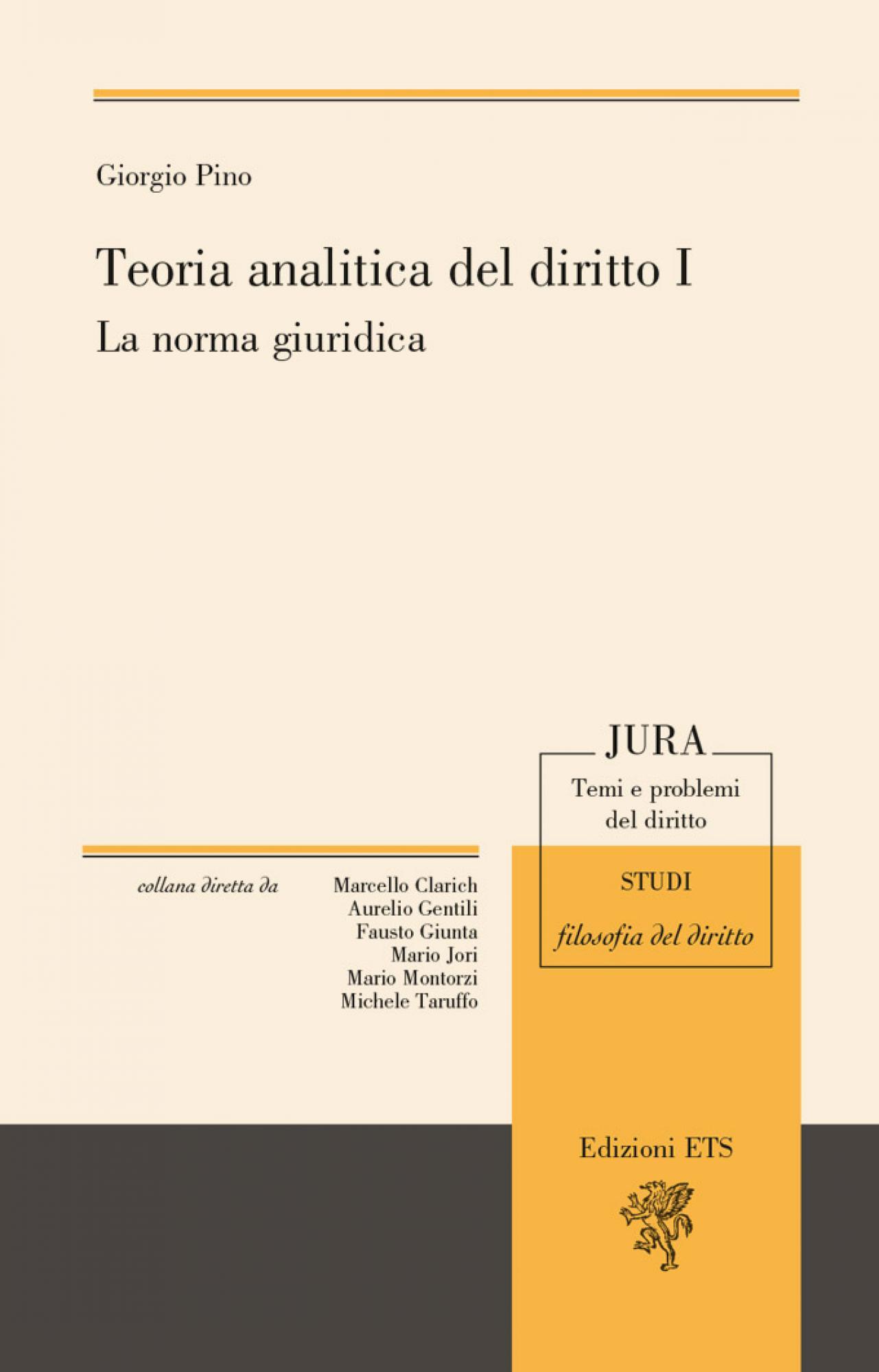 Teoria analitica del diritto I.La norma giuridica