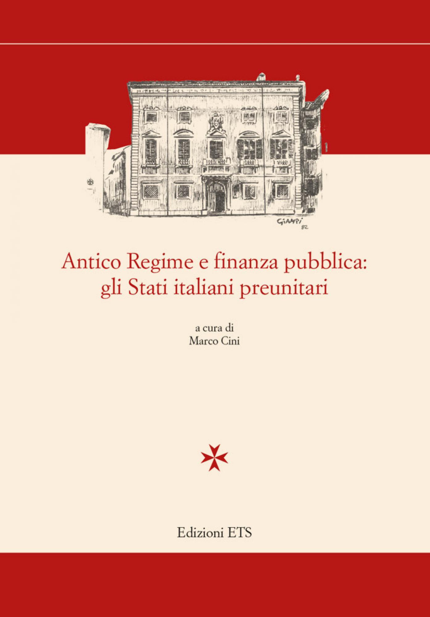 Antico Regime e finanza pubblica: gli Stati italiani preunitari