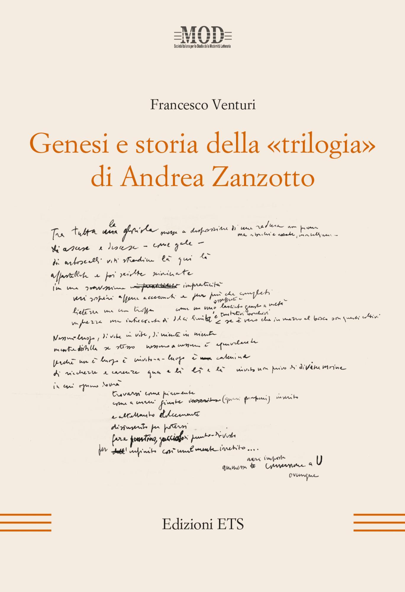 Genesi e storia della ''trilogia'' di Andrea Zanzotto