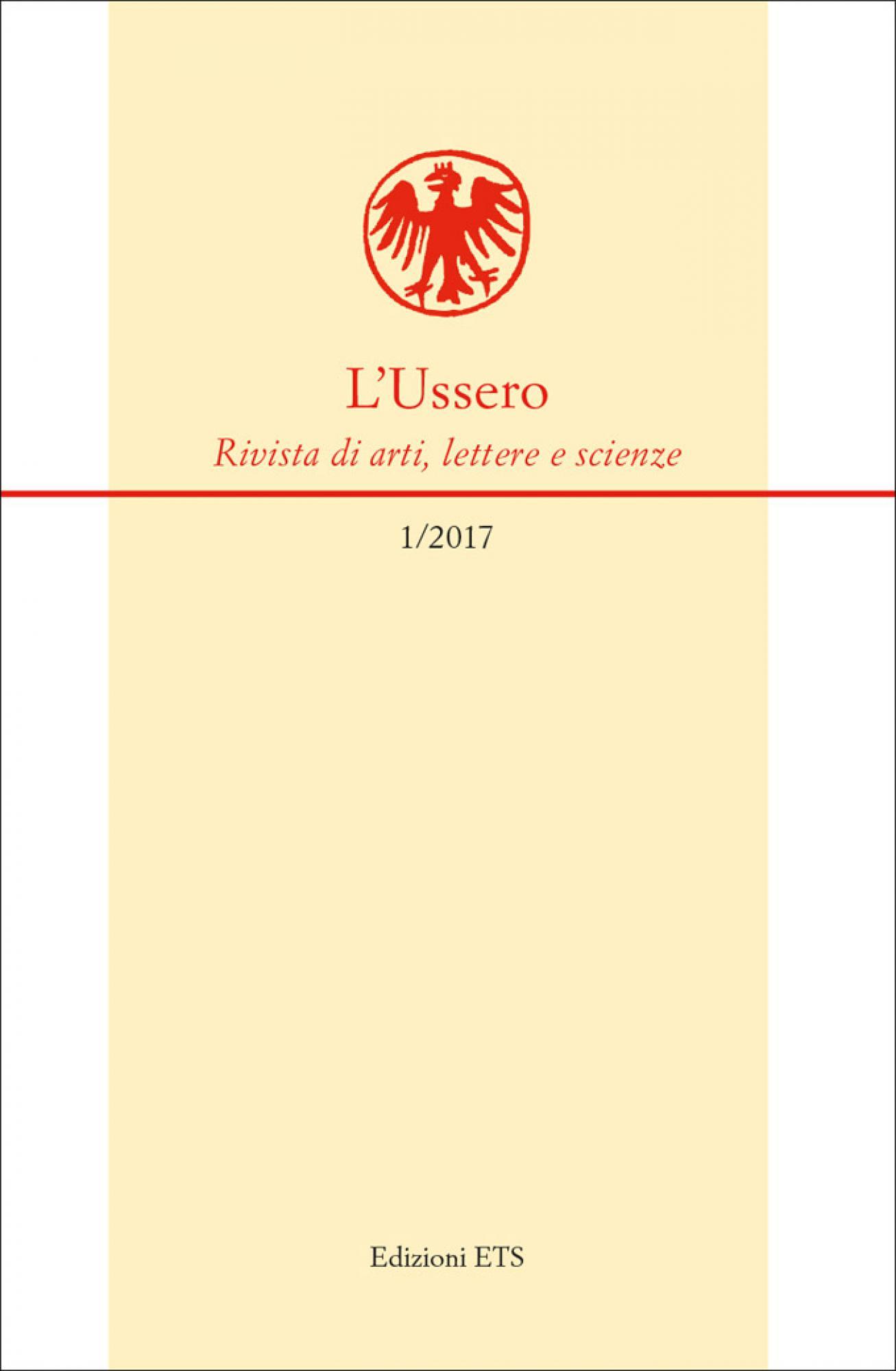 L'Ussero.Rivista di arti, lettere e scienze (1/2017)
