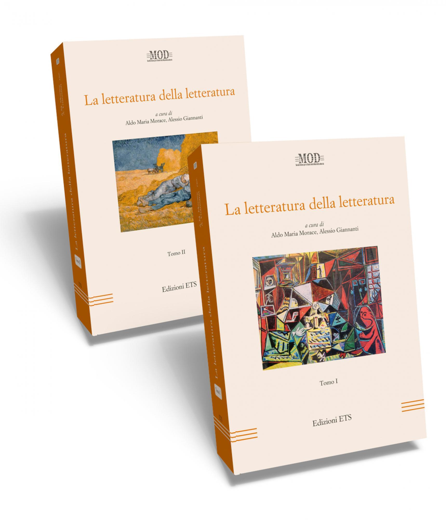 La letteratura della letteratura.Tomi I e II
