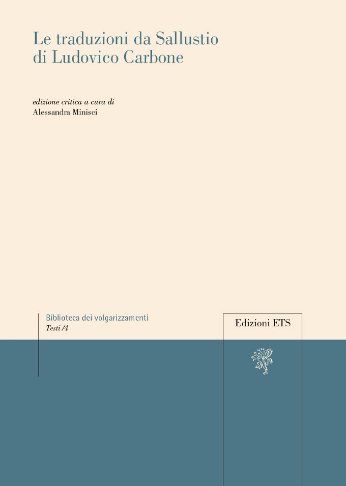 Le traduzioni da Sallustio di Ludovico Carbone