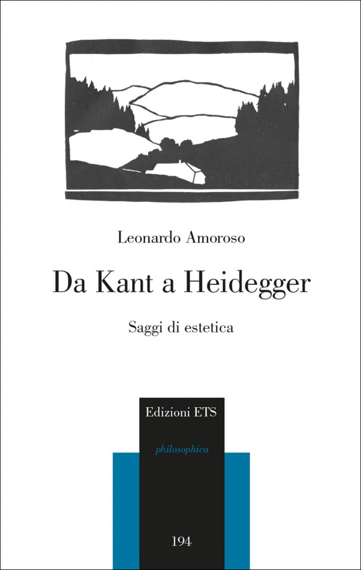 Da Kant a Heidegger.Saggi di estetica