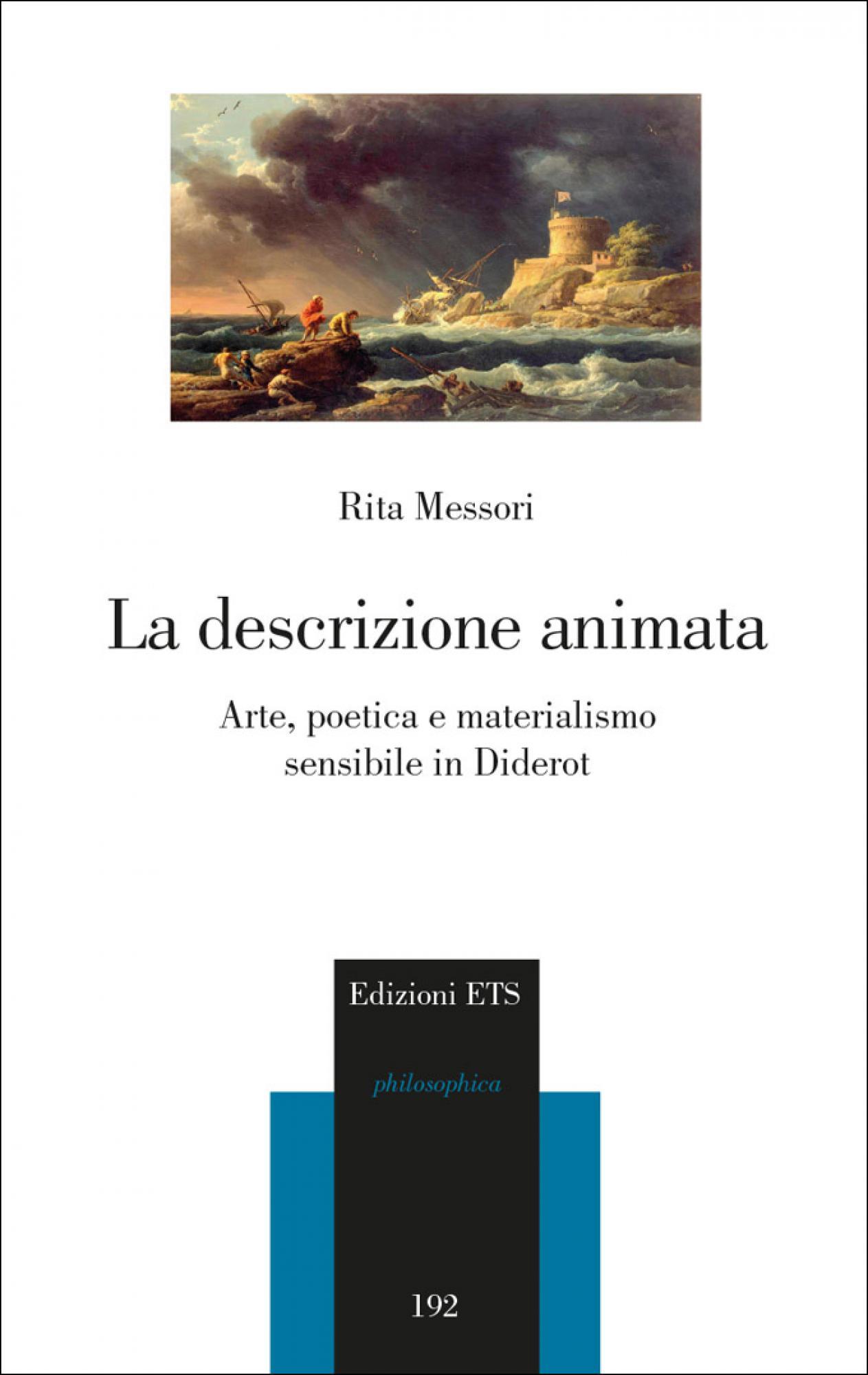 La descrizione animata.Arte, poetica e materialismo sensibile in Diderot