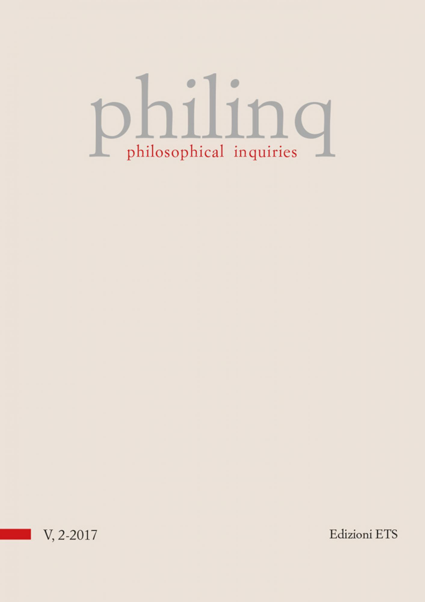 philosophical inquiries.volume 5, issue 2-2017