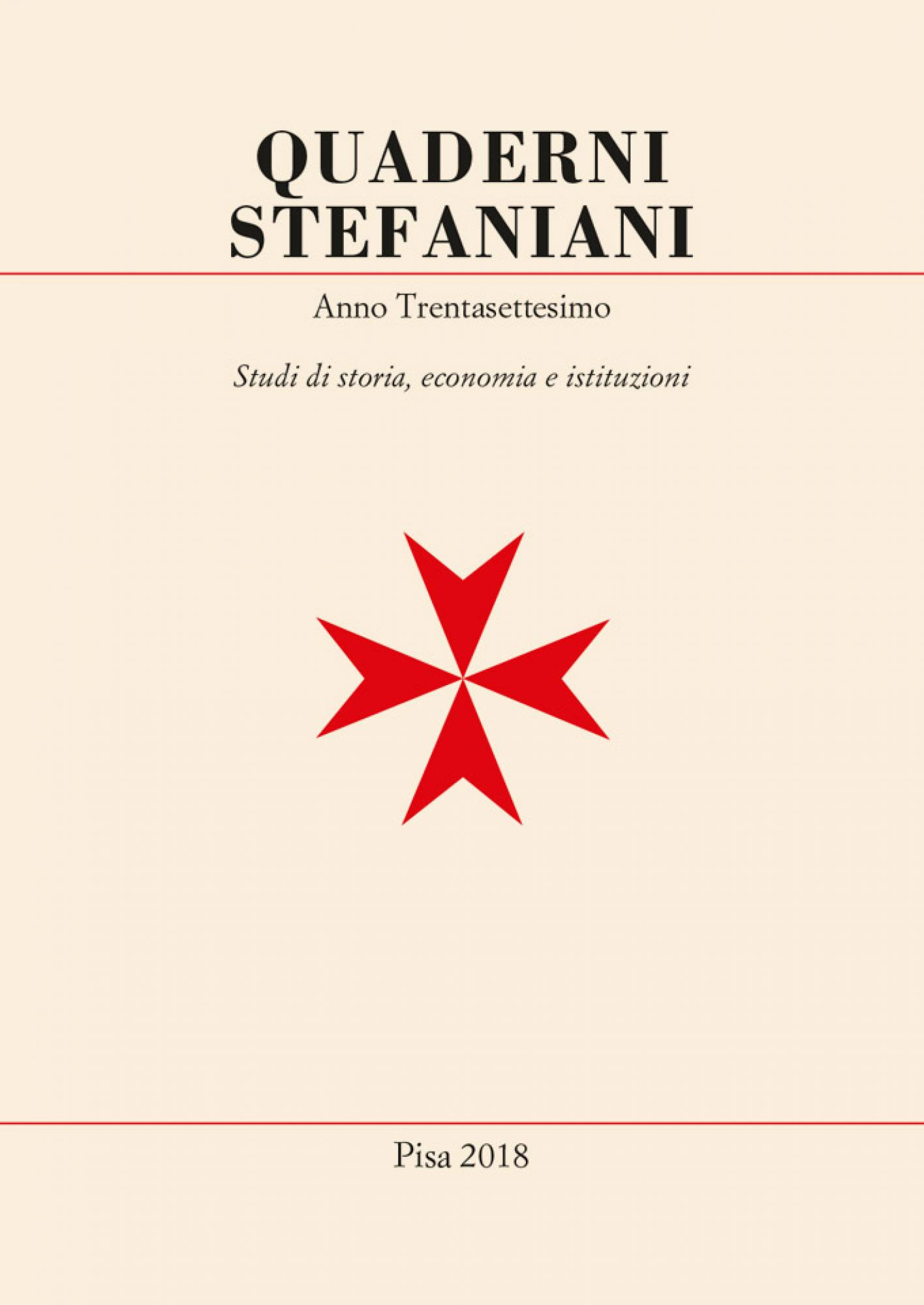 Quaderni stefaniani.anno trentasettesimo