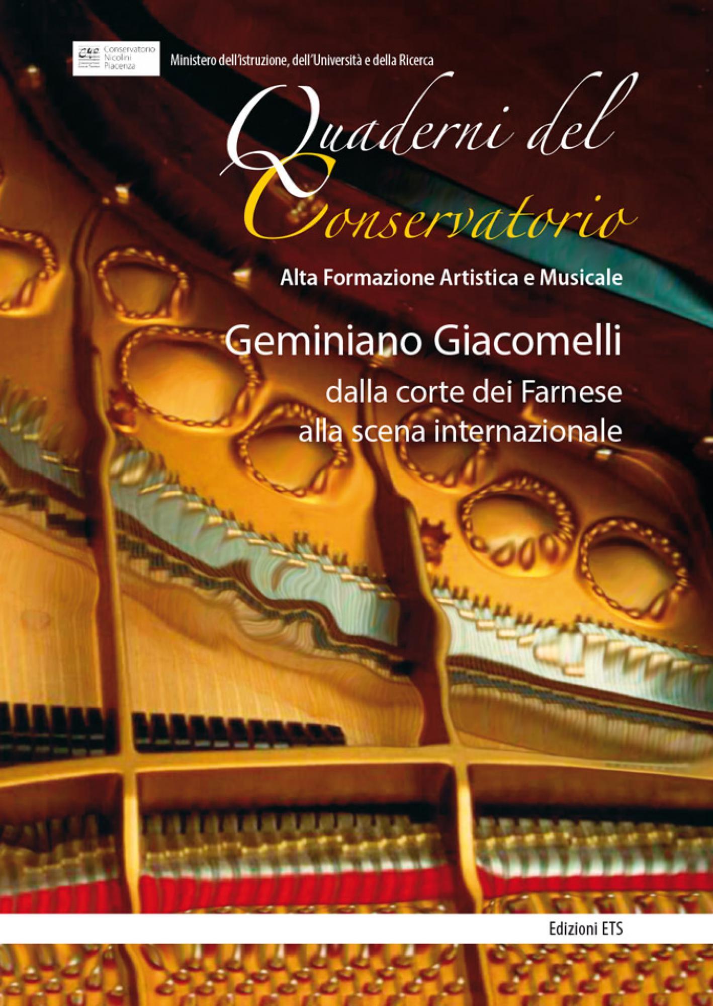 Geminiano Giacomelli.dalla corte dei Farnese alla scena internazionale