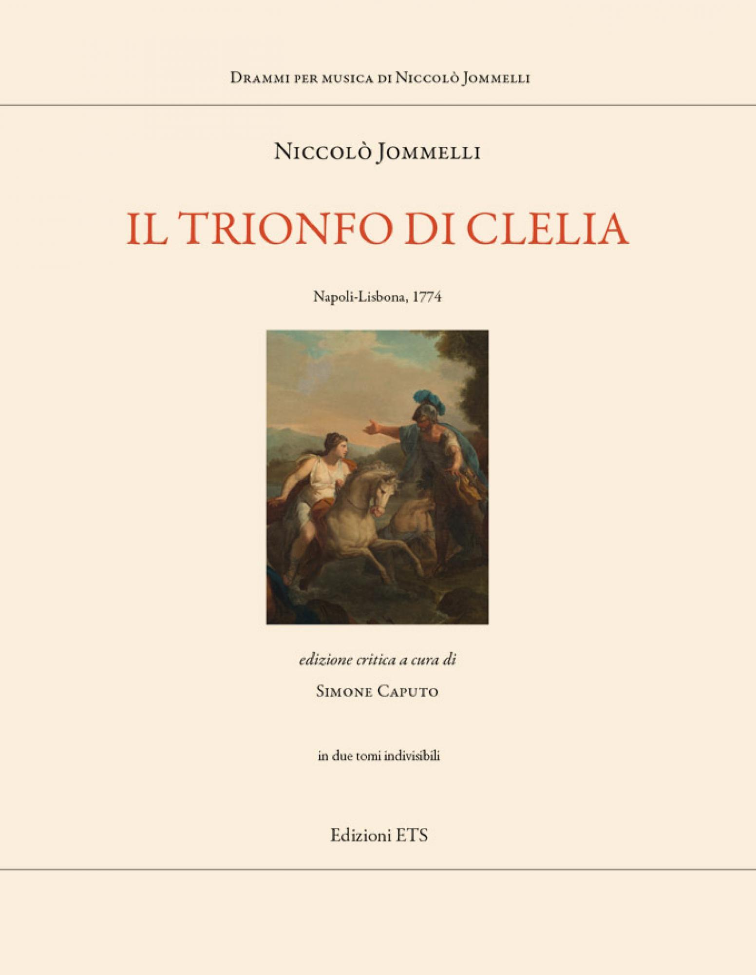 Il trionfo di Clelia.Napoli-Lisbona 1774