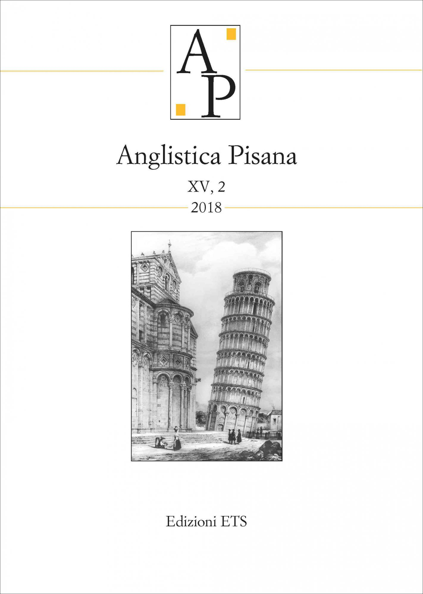 Anglistica Pisana XV, 2 2018