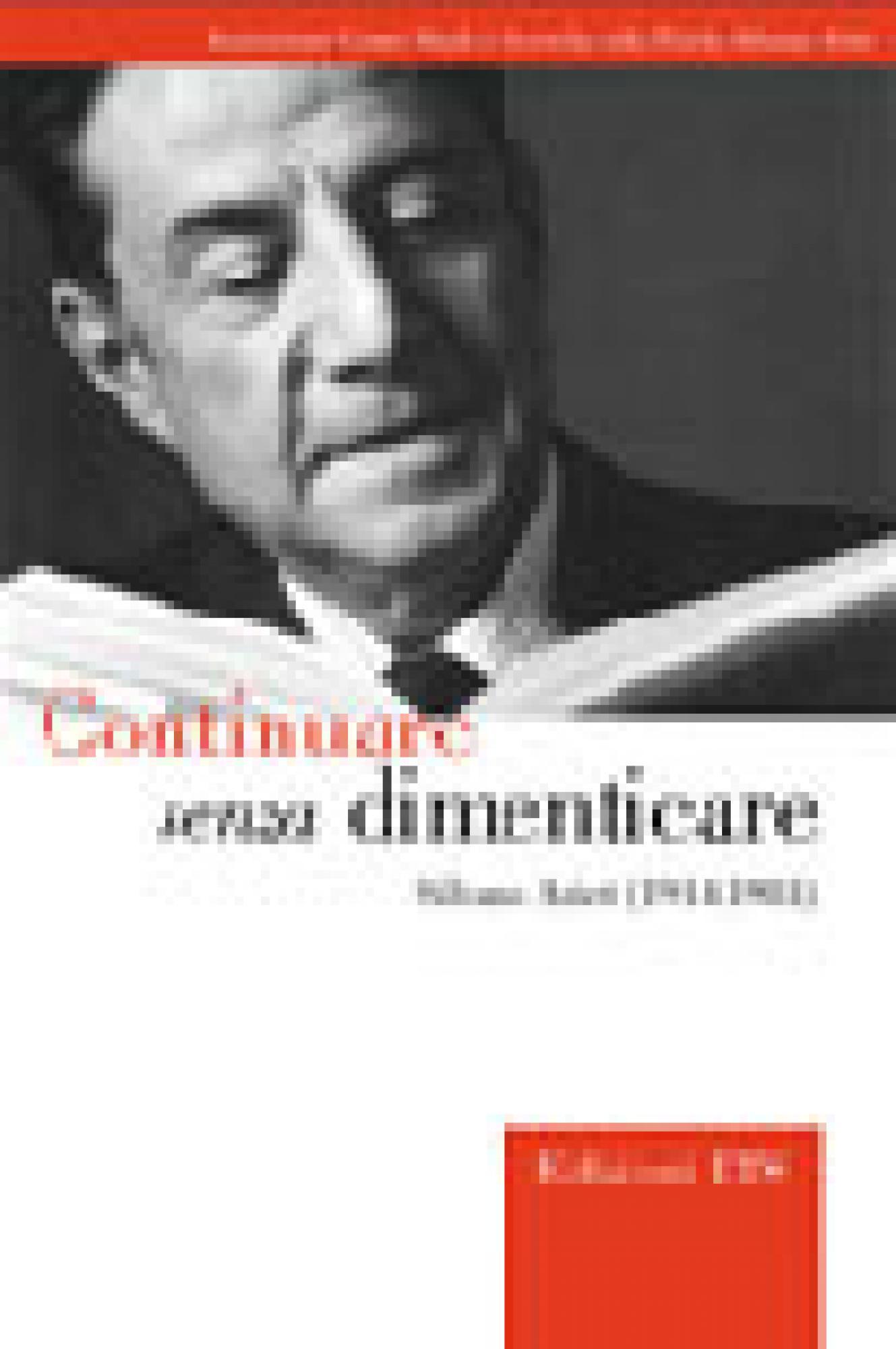 Continuare senza dimenticare.Silvano Arieti (1914-1981)