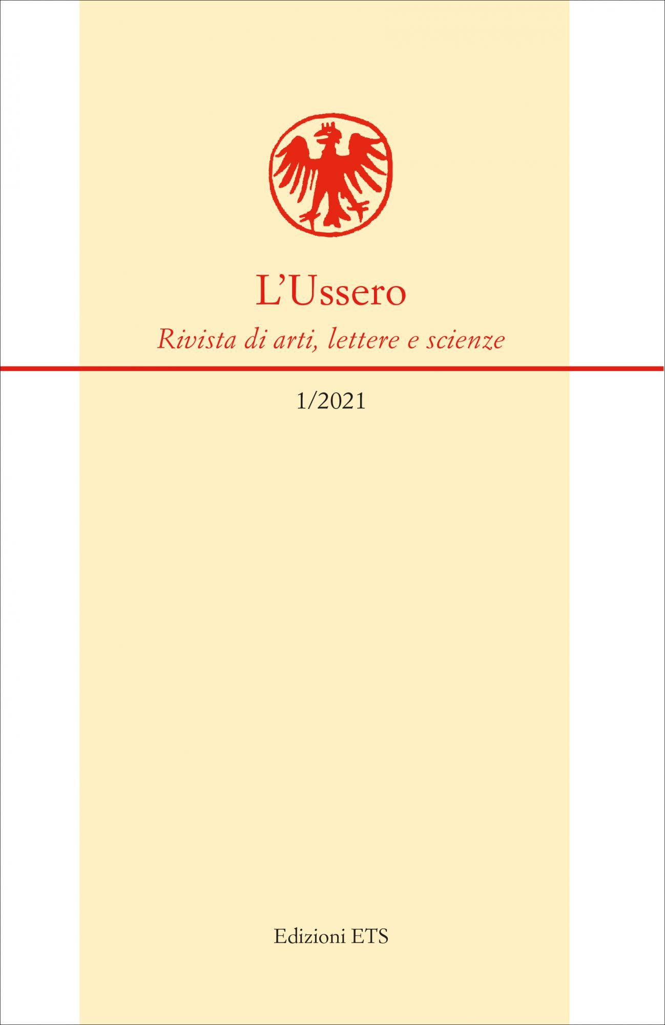 L'Ussero<br />Rivista di arti, lettere e scienze 1/2021