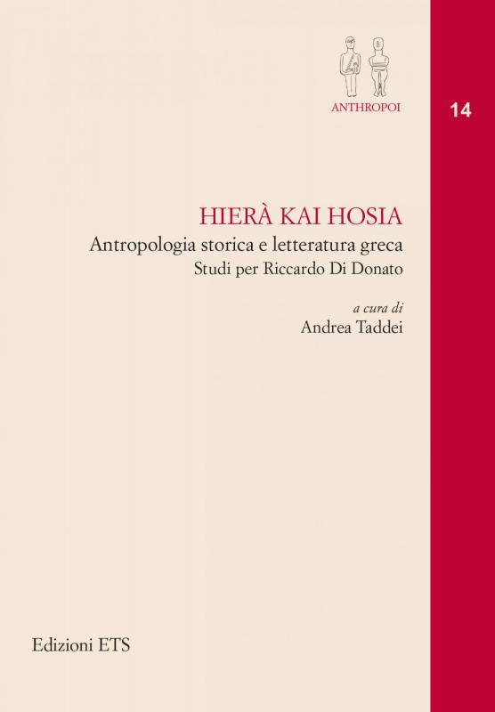 Letture.org parla di Hierà kai hosia