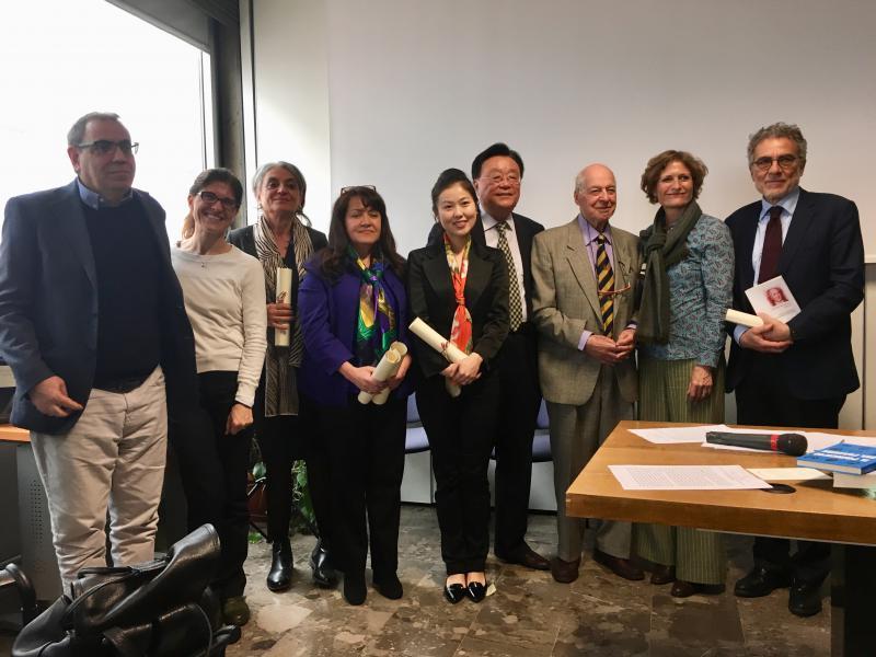 Premio dal MiBAC per la traduzione alla casa editrice ETS